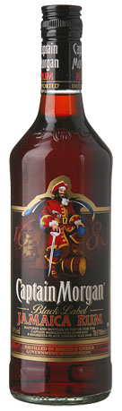 Captain Morgan Black Label  1 l 40%