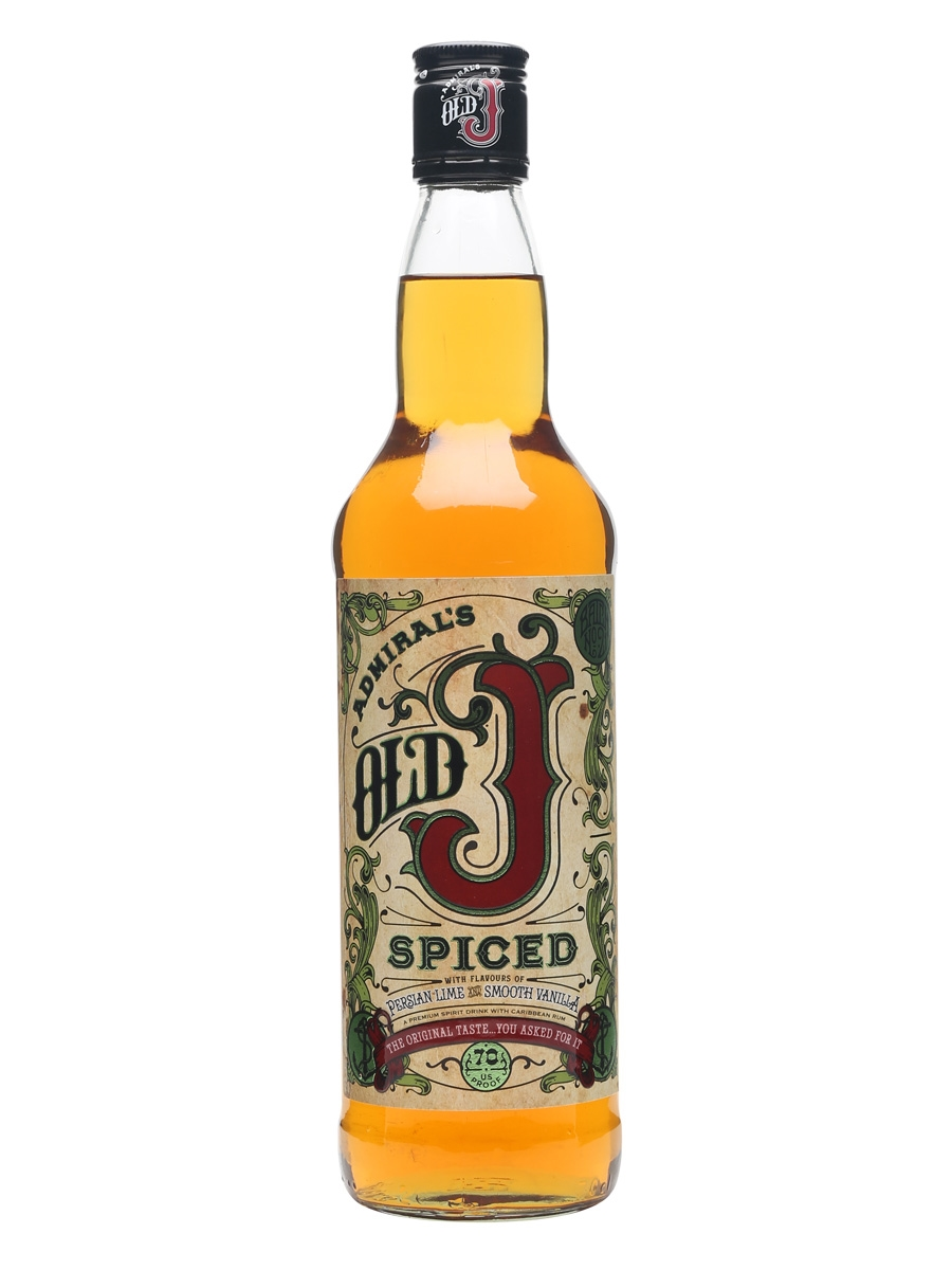 Old J spiced rum 0,7 l 35%