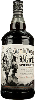Captain Morgan Black Spiced Rum 0,7 l 40%