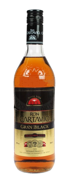 Cartavio Gran Black 70 cl 38%