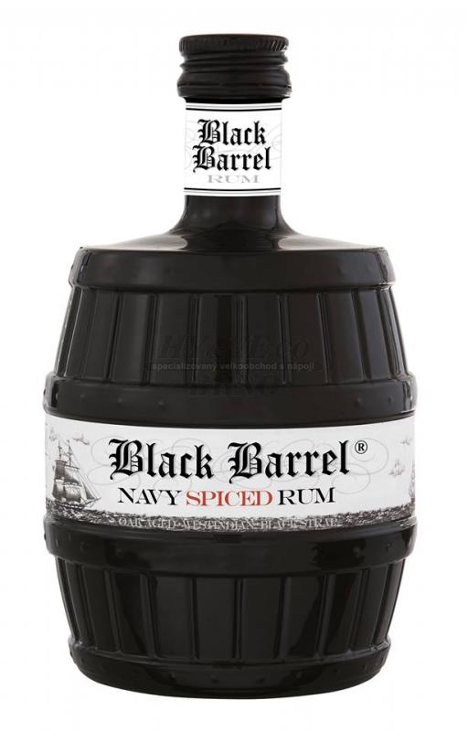 A.H.Riise Black Barrel Spiced 70 cl 40%
