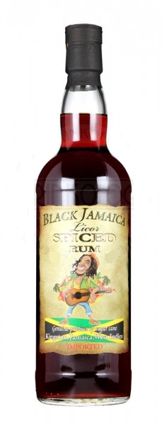 Black Jamaica Spiced 0,7 l 35%