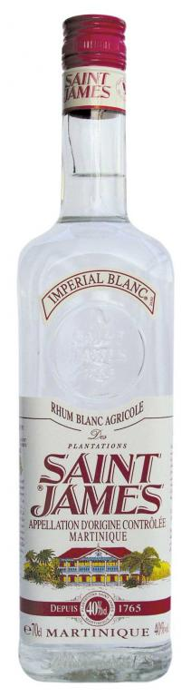 Saint James Imperial Blanc Rhum 70cl 40%