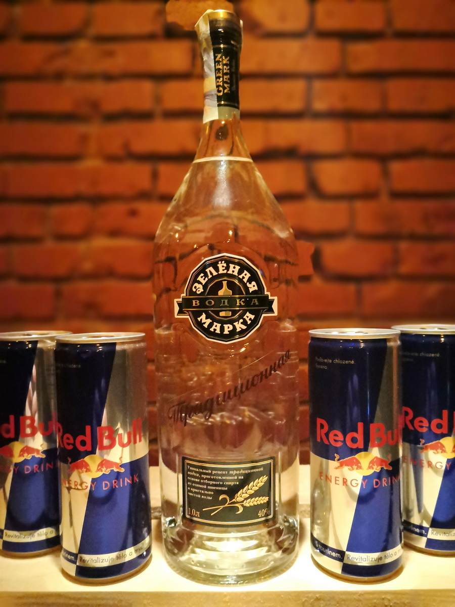 Vodka RedBull set