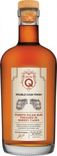 Don Q Double Aged Sherry Cask Finish  0,7l 41%